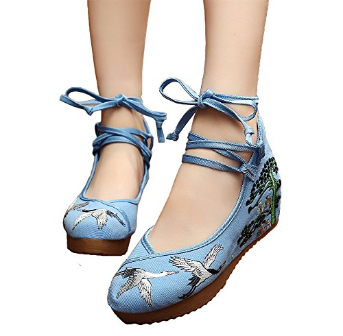 AvaCostume Womens Embroidery Rubber Strappy