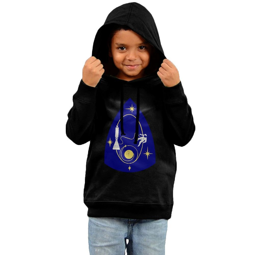 Unyiqun Space Travel Toddler Hoodies - Soft And Cozy Hooded Sweatshirts 2 Toddler