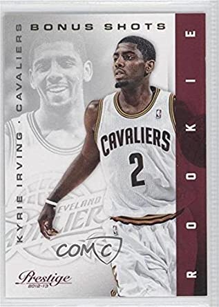 b97d51f5156 Amazon.com  Kyrie Irving  214 249 (Basketball Card) 2012-13 Prestige -   Base  - Bonus Shots Gold  151  Collectibles   Fine Art