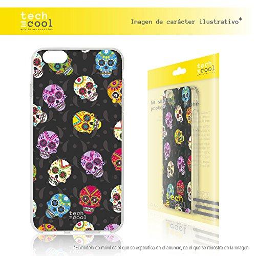 Iphone 7 Plus Coque, Funnytech® Housse premium Souple TPU Silicone pour Iphone 7 Plus l [couleurs très vives] [Design exclusif, Impression haute définition] [Ultra Mince 1,5mm] [Souple]