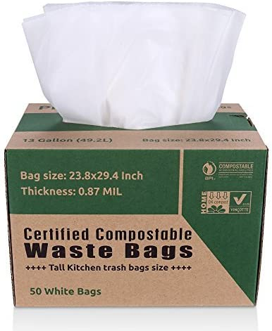 Primode 13 Gallon compostable trash bags are one of the strongest compostable trash bags