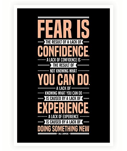 Amazon.com: LAB NO 4 Fear is The Result Dale Carnegie ...