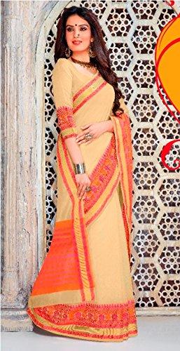 collezione manuale gonna saree lavoro abito Seta ricamo bollywood sari 100 donne culutral lavoro Designer tradizionale indiano saree jari 845 originale PUwYY15q