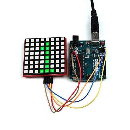 GeeekPi 8x8 Full-Color RGB LED Matrix Module for Arduino