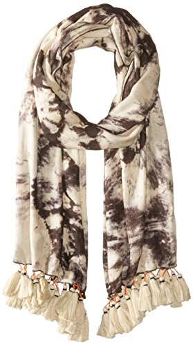Michael Stars Women's Rorschach Tie Dye Scarf, black, One Size for $<!--$20.51-->