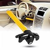 Car Steering Wheel Lock, Universal Auto Car Anti-Theft Security Rotary Steering Wheel Lock Top Mount