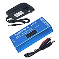 QWinOut RC Battery Balance Charger with 12V 2A Switching Adapter Voltage Tester 2S 3S 4S Cell Li-Ion Li-Poly for DIY Drone Helicopter Car Quadcopter Hexacopter