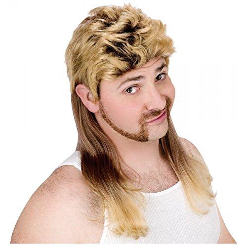 Super Mullet Wig Costume Accessory