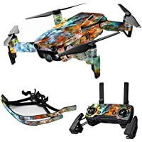 MightySkins Skin for DJI Mavic Air Drone - Space Cloud   Max Combo Protective, Durable, and Unique Vinyl Decal wrap cover   Easy To Apply, Remove, and Change Styles   Made in the USA