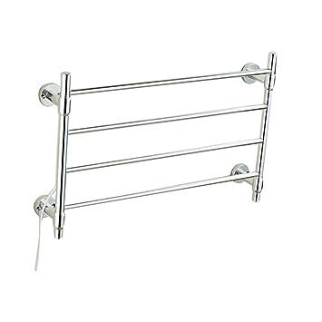 Homeure Radiador Toalleros Electrico Radiadores Pared Baño Secador Toallas ,Silver