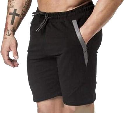Dahuo Short D Entraînement élastique Pour Homme Avec Fermeture éclair Noir Xs Amazon Fr Vêtements Et Accessoires