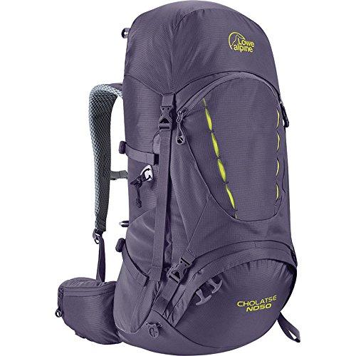 Lowe Alpine Cholatse ND50 Women's Backpack Aubergine/Blue Print Purple One Size