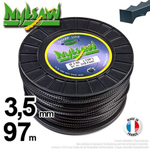 Ryobi-Desbrozadora inalámbrico nailon Nylsaw Dentón 3,5 mm a 97 m ...