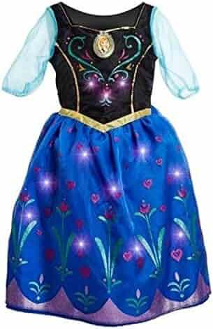 Disney Frozen Anna Musical Light-Up Dress Size 7/8