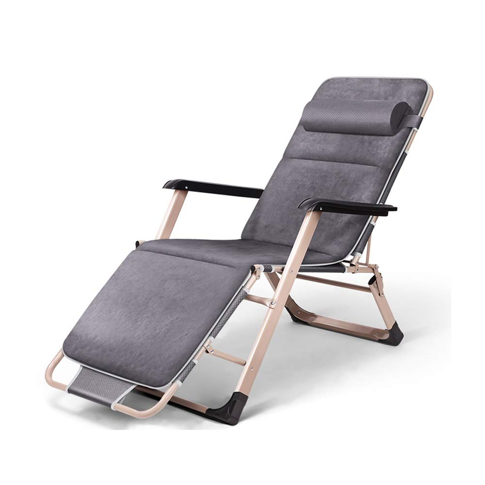A KFXL Folding Reclining Chair Folding Chair - Zero Gravity Lounge Chair for Terrace 98x15x66cm Patio Chairs (color   A)