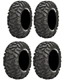 Full set of Maxxis BigHorn Radial 25x8-12 and 25x10-12 ATV Tires (2)