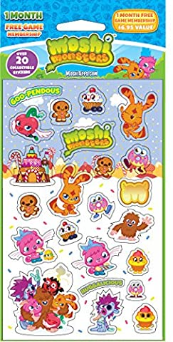 Mrs Grossman's Reflective Strip Stickers - Moshi Foodies First Edition - Mrs Grossmans Sticker Strips