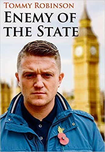 Is Tommy Ready For Prime Time Not At >> Tommy Robinson Enemy Of The State Amazon Co Uk Tommy Robinson