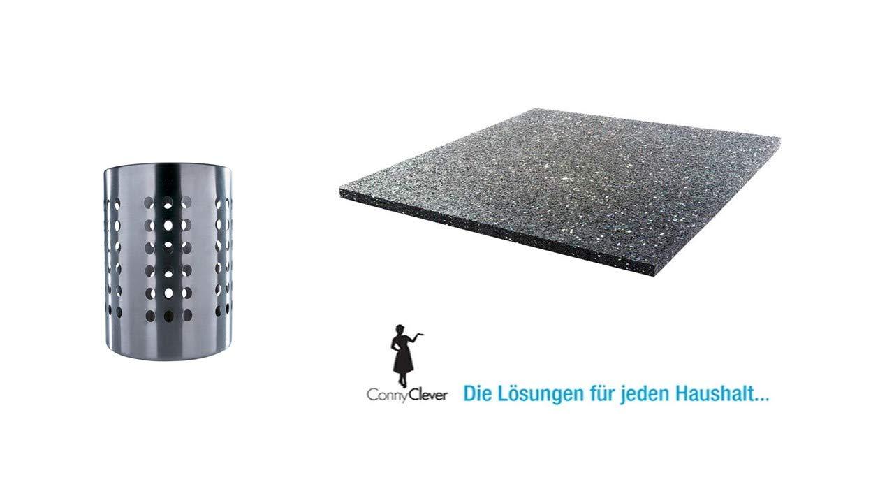 I IKEA Ordning - Cubertería Soporte, Acero Inoxidable + Accesorios ...