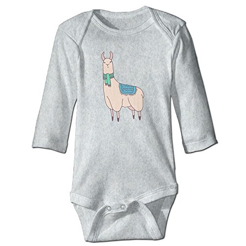 Lama Funny Baby Boy Girls Long Sleeve Babys' Crawling Jumpsuit Rompers