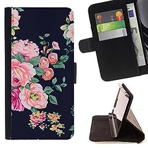 - Queen Pattern FOR Samsung Galaxy S5 Mini, SM-G800 /La identificaci????n del cr????dito ranuras para tarjetas tir????n de la caja Cartera de cuero cubie - rose black vignette rus
