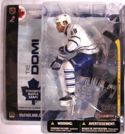 McFarlane Toys Tie Domi - Toronto Maple Leafs - White Jersey - No. 28 ()