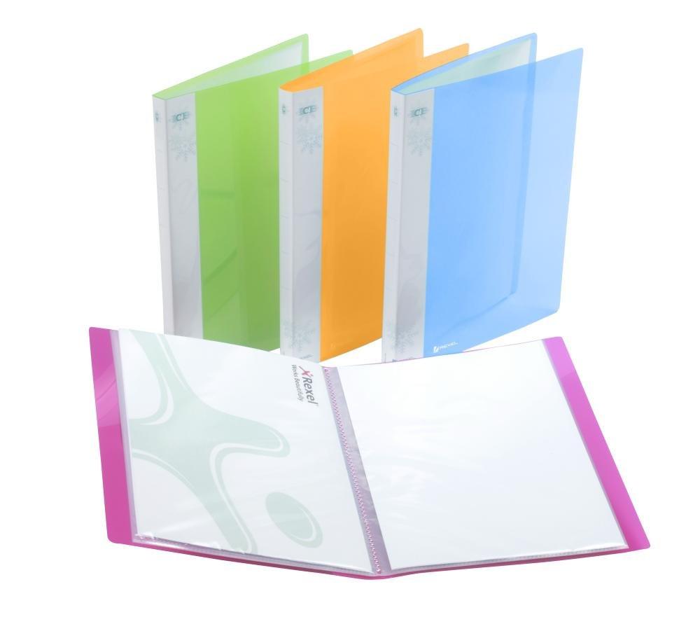 Rexel Ice Tasche assortiti 1 confezione da 20 BUSTE 2102038A ACCO Brands