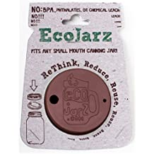 Ecojarz Regular Mouth Coffee Silicone Drink-top for Canning Jars