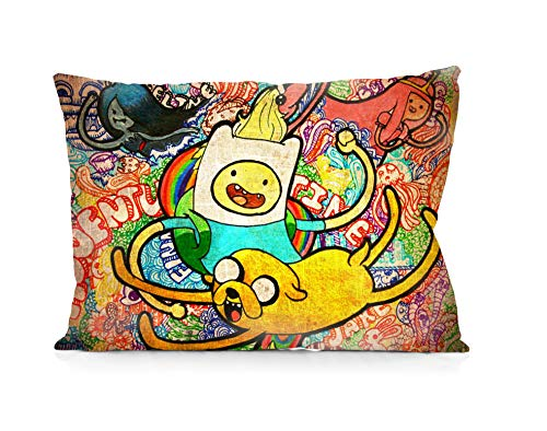 DoubleUSA Adventure Time Pillowcases Two Sides Print Zipper Pillow Covers 20