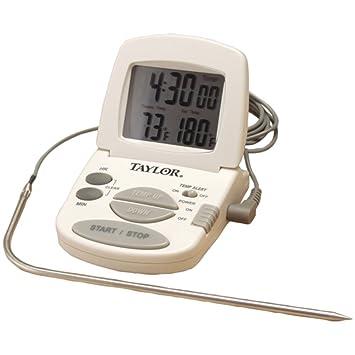 Taylor 1470 N digital cocinar Termómetro/temporizador casa & jardín