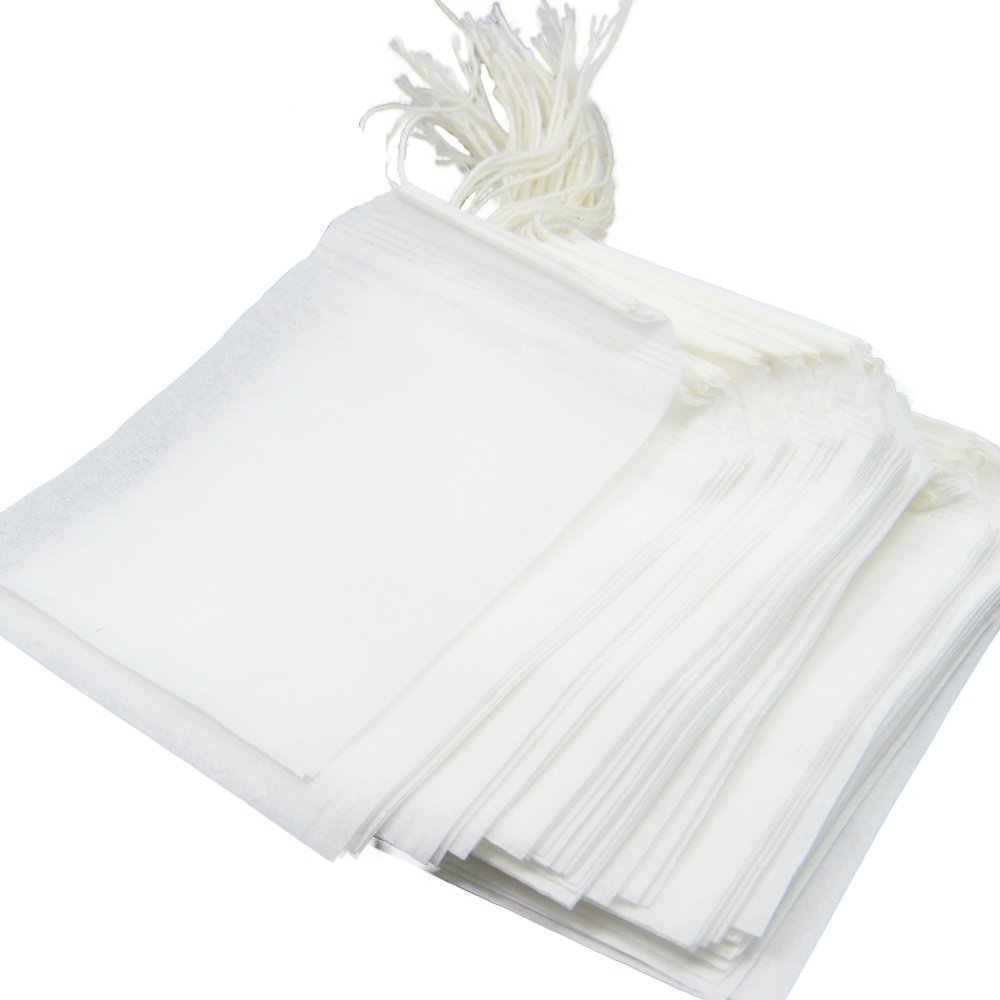Disposable Tea Filter Bags - 100 Count Aketek LeVon0047