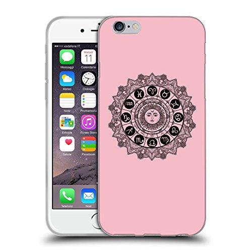 "GoGoMobile Coque de Protection TPU Silicone Case pour // Q08610630 Zodiac 1 Rose // Apple iPhone 6 4.7"""