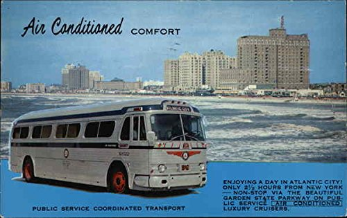 (New York Port Authority Bus Terminal New York Original Vintage Postcard)