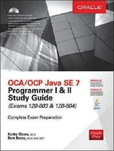 Buy scjp sun certified programmer for java 5 study guide exam 310 ocaocp java se 7 programmer i ii study guide exams 1z0 fandeluxe Image collections