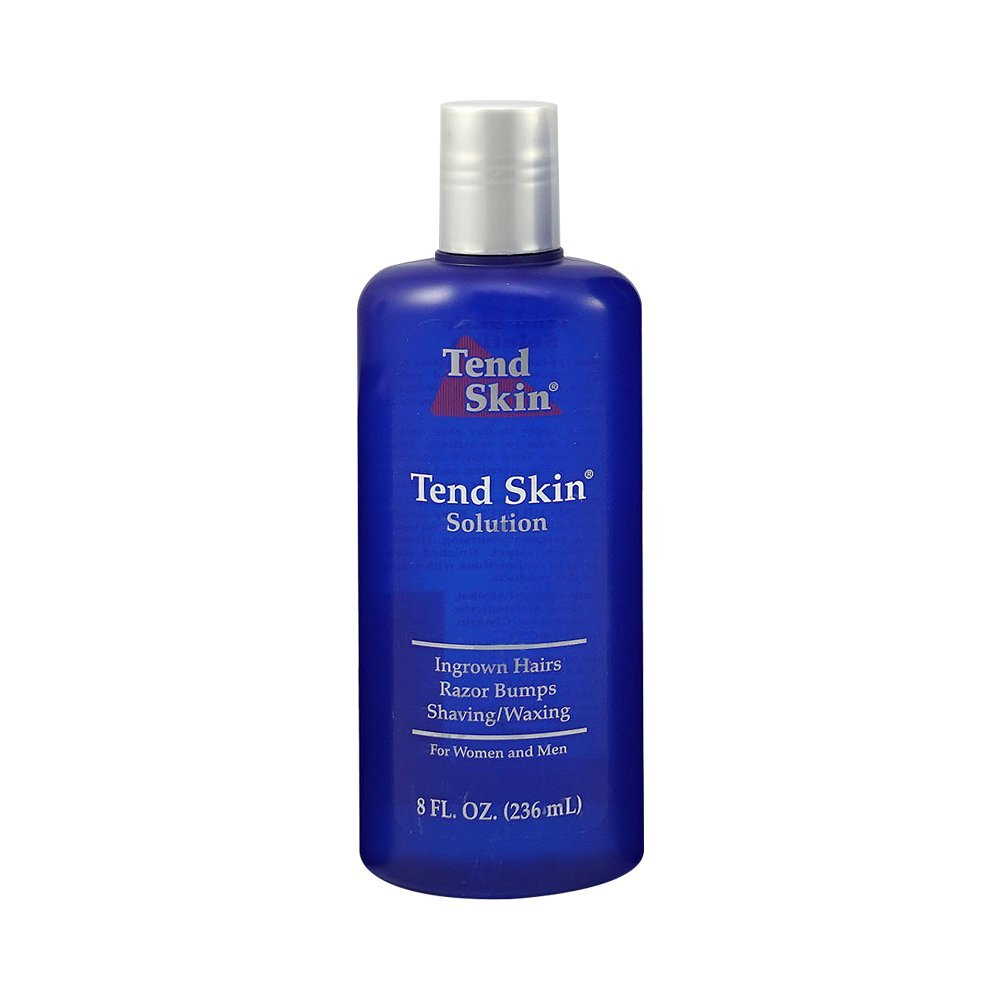 Tend Skin The Skin Care Solution For Unsightly Razor Bumps, Ingrown Hair And Razor Burns, 8-Ounce Bottle