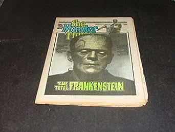 The Monster Times Vol 1 #21 Total Frankenstein, Filmbook, Castle, Filmlist
