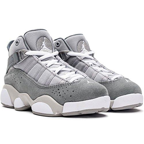6 Little Matte White cool Silver Kids Grey Rings Jordan SqUwd7S