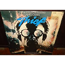 Tangerine Dream - Thief Promo LP - Original Motion Picture Soundtrack - Pre 1st Edition First US Pressing Vinyl Record Promotional Release LP - Catalog # 5E-521 Elektra - 1981 - James Cann EX/EX