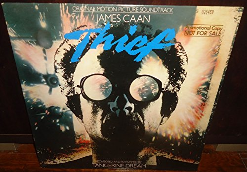Tangerine Dream - Thief Promo LP - Original Motion Picture Soundtrack - Pre 1st Edition First US Pressing Vinyl Record Promotional Release LP - Catalog # 5E-521 Elektra - 1981 -
