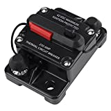 Hilitand DC12V-42V Car Stereo Audio Inline Circuit Breaker Manual Reset 50A-300A(250A)