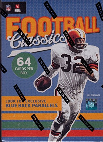 2017 Panini CLASSICS Series NFL Football Unopened Blaster Box of Packs with Possible Retail Exclusive Blue Back Parallels ()