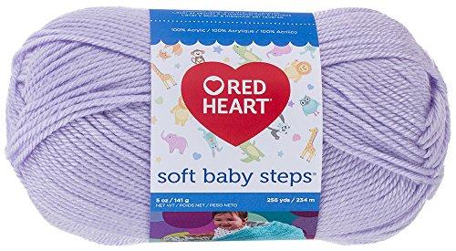 Yarn Red Heart (Red Heart  Soft Baby Steps Yarn, Lavender)