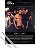 Poster + Hanger: Fight Club Poster (91x61 cm) Brad Pitt, Film Review Collection (Fight Scene) Inklusive Ein Paar 1art1® Posterleisten, Transparent
