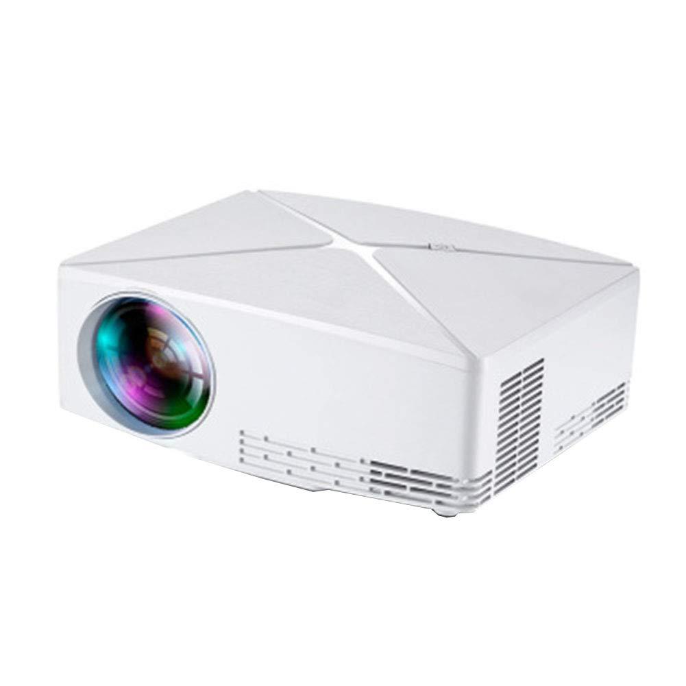 プロジェクター ポータブルミニプロジェクター、 LED 1080P HD投影、WIFI接続、 に適して ファミリー/劇場/パーティー B07QXP4H1T