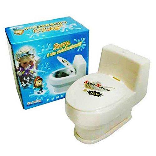 Costume Prank Seat Toilet (Lanlan Toilet Stress Toy Mini Interesting Joke Toys Toilet Seat Water Spray Trick Make Funny in Party Prank Gag)