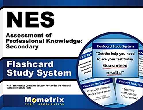 nes assessment of professional knowledge secondary flashcard study rh amazon com Subtest 1 and 2 NES Test Registration
