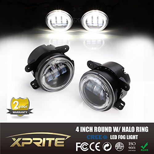xprite-4-inch-60w-cree-led-fog-lights-6000k-white-halo-ring-angel-eyes-for-jeep-wrangler-jk-tj-lj-do