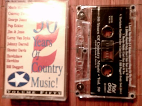 50 Years Of Country Music! Volume Fifty 50 rare audio cassette tape