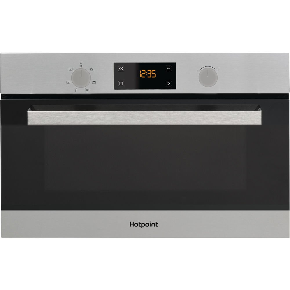 Hotpoint MD 344 IX HA Built-in Combination microwave 31L 1000W ...
