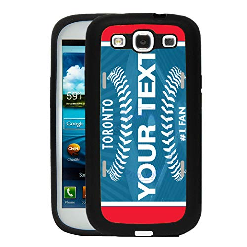 BRGiftShop Customize Your Own Baseball Team Toronto Rubber Phone Case for Samsung Galaxy J7 2016 (Toronto Blue Jays Back To Back World Series)